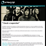 PKR Email - Play a Pro
