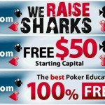 PokerStrategy We Raise Sharks Ad